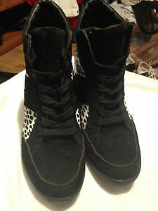 Heeled Sneaker boots