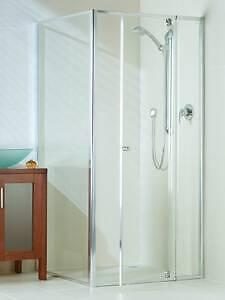 Glass Shower Screens Optima Return Panels Multiple Sizes