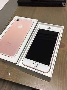 Rose Gold iPhone 7 32GB - For Trade or $650