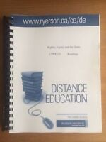 Rights, Equity and the State Distance Education Readings Watch|S