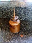 Copper Oil Can