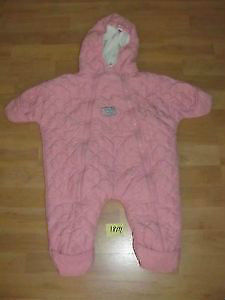 Size 18M Girl's Pink Snowsuit for Sale: Runs small in Size!