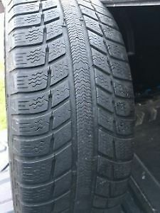 205/55r16 Four tires on rims