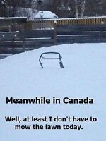 Snow Removal Anywhere In Edmonton 780 903-5929