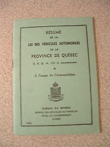 Loi Des Véhicules Automobiles