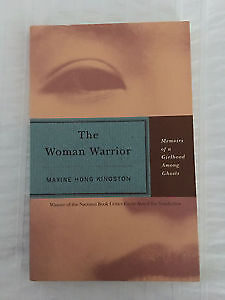 UofT ENG250Y1 The Woman Warrior by Maxine Hong Kingston