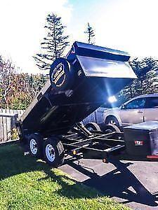 Dump trailer for hire St. John's Newfoundland image 1