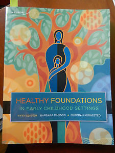 Healthy Foundations in Early Childhood Settings 5th Edition Kitchener / Waterloo Kitchener Area image 1