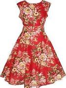 Vintage 40s 50s Dress