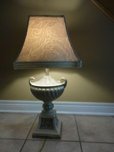 TROPHY BASE DESIGNER TABLE LAMP - $75 FIRM London Ontario image 2