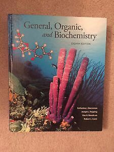 General, Organic and Biochemistry; 8th Edition