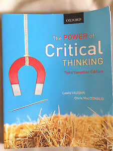 Power of critical thinking vaughn 3rd edition answers