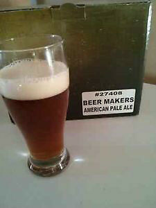 Beer makers Premium beer kits $40 and up
