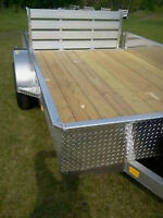 CHECK THIS OUT! *All Aluminum *CDN Made *6.4' x 12' Trailer