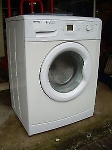 98 Beko WME7227 7kg 1200 Spin White LCD A+A Rated Washing Machine 1 YEAR GUARANTEE FREE DEL N FIT