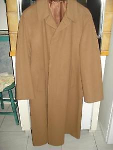 Aubaine beau manteau long en cachemire marque TESSUTO ITALIANO