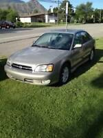 2002 Subaru Legacy AWD GT 4 dr sedan loaded