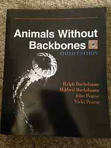 Animals without Backbones - Third Edition