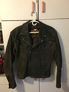 Harley Davidson Leather Jacket and Chaps