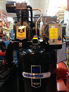 Compresseur 30 cfm 80 gallons neuf insustrial