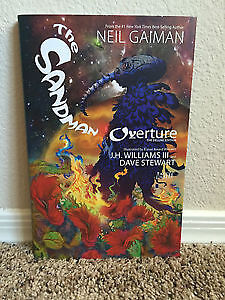 Sandman Overture Hardcover Deluxe Edition Excellent Condition