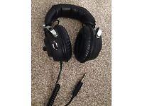VINTAGE RETRO AUDITION HEADPHONES - MODEL TE1093 - Rare