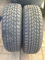 SNOW TIRES P235/65/R17 TOYO SET OF TWO $180.00
