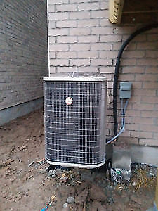 Air conditioner repair and service-tune up and top up, relocatio