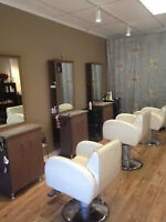Chair Rental Available for Hairstylists