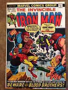 Ironman #55 1st Thanos & Drax VF GREAT condition !