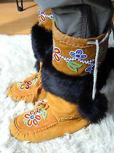 Hand Made Mukluks Clothing Shoes Amp Accessories Ebay