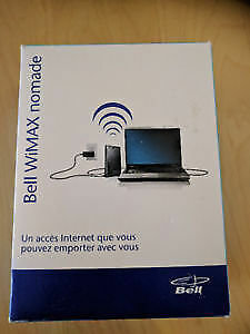 BELL WIMAX UNPLUGGED GRAB/GO MODEM