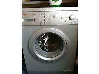 21 Bosch WAE2416s 6kg 1200Spin Silver A Rated Washing Machine 1YEAR WARRANTY FREE DEL N FIT