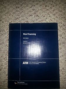 ARM 56 Risk Financing, 6th Edition Textbook and Course Guide