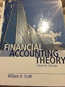 Financial Accounting Theory 7th edition William R. Scott