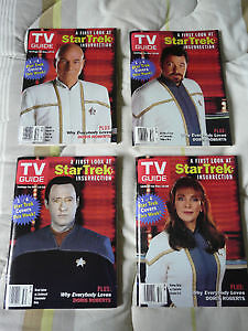 VINTAGE TV GUIDES - STAR TREK, X-FILES & FINAL PRINT EDITION