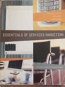 Essential of Services Marketing (Custom Edition for Humber)