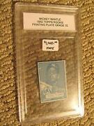 Mickey Mantle Plate