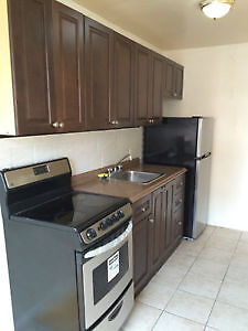 Completely renovated large bachelor superb location Aug /Sept 01