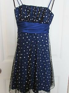 black and royal blue sparkle dresses for sale $55 or 2 for $100