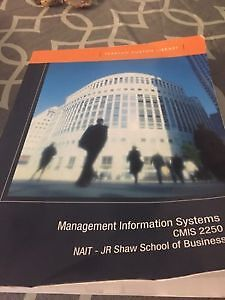 CMIS2250 Management Information Systems
