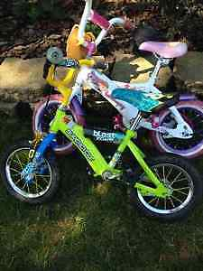 """Girl's and boy's 12"""" bikes"""