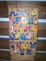 Large Hand Painted Letters