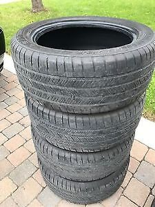 4 Good Year Eagle LS 2 Runflat 245/50/18 BMW Certified