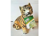 Genuine Animal Planet Tiger Cub Money Box. In Original Box. Reduced £10**