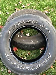 4 pneus Bridgestone Dueler A/t 255-70-18