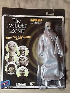 "Twilight Zone Kanamit Sealed 8"" action figure by Bif Bang Pow!"
