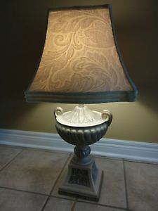 TROPHY BASE DESIGNER TABLE LAMP - $75 FIRM London Ontario image 1