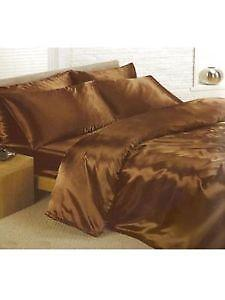 Image result for GOLDEN BROWN SATIN BED SPREAD