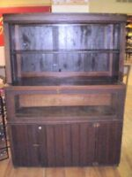1800's Barbershop Cupboard Rare Find  50% Off INVENTORY